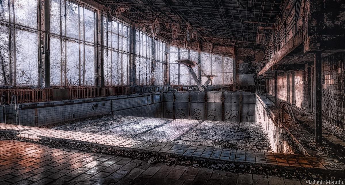 Vùng đất chết Chernobyl hóa xứ thần tiên qua ống kính nhiếp ảnh gia Ảnh 12