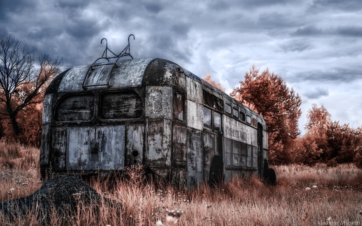 Vùng đất chết Chernobyl hóa xứ thần tiên qua ống kính nhiếp ảnh gia Ảnh 7