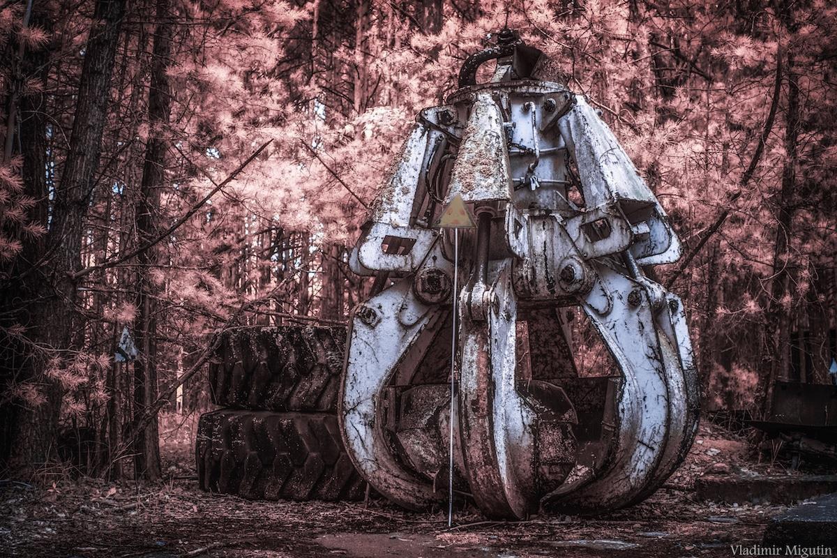 Vùng đất chết Chernobyl hóa xứ thần tiên qua ống kính nhiếp ảnh gia Ảnh 14