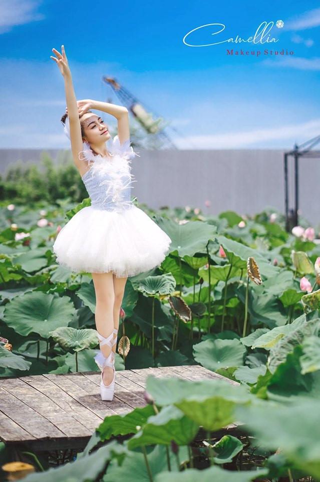 Mãn nhãn bộ ảnh vũ công nhí múa ballet, diện cổ trang bên Quốc hoa Ảnh 6