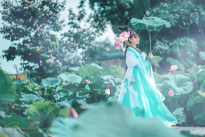 Mãn nhãn bộ ảnh vũ công nhí múa ballet, diện cổ trang bên Quốc hoa Ảnh 10