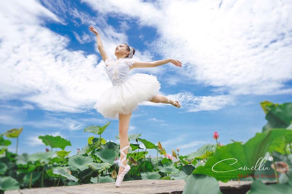 Mãn nhãn bộ ảnh vũ công nhí múa ballet, diện cổ trang bên Quốc hoa Ảnh 5