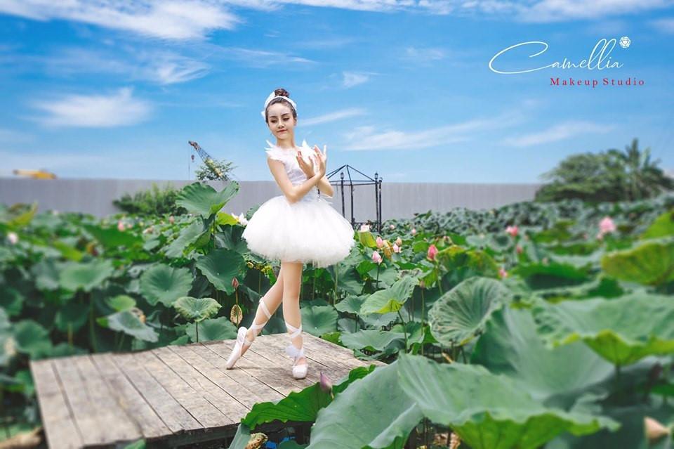 Mãn nhãn bộ ảnh vũ công nhí múa ballet, diện cổ trang bên Quốc hoa Ảnh 2