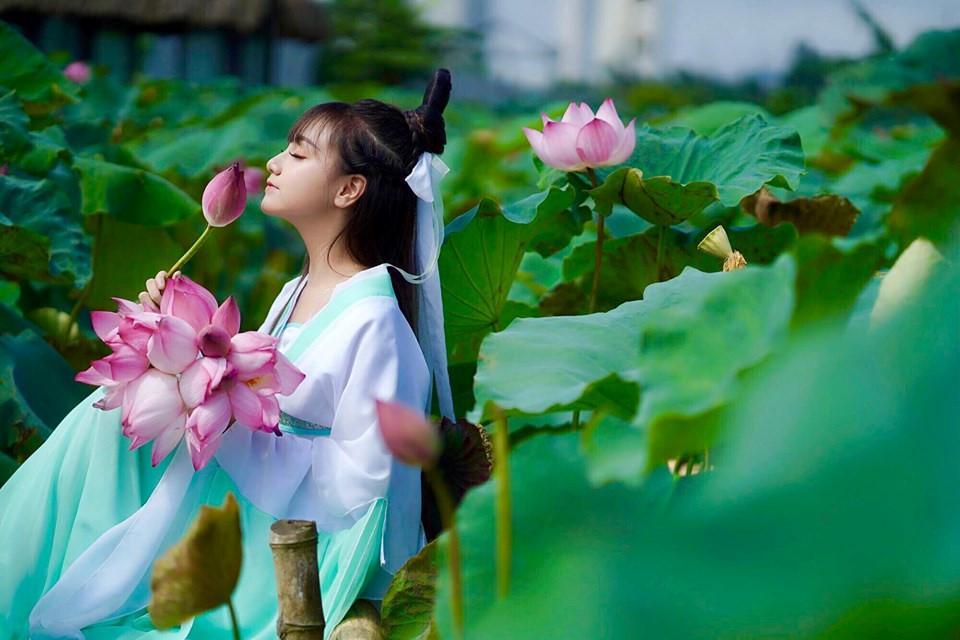 Mãn nhãn bộ ảnh vũ công nhí múa ballet, diện cổ trang bên Quốc hoa Ảnh 8