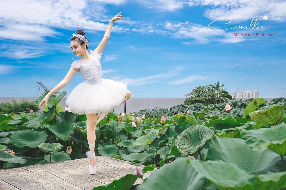 Mãn nhãn bộ ảnh vũ công nhí múa ballet, diện cổ trang bên Quốc hoa Ảnh 3