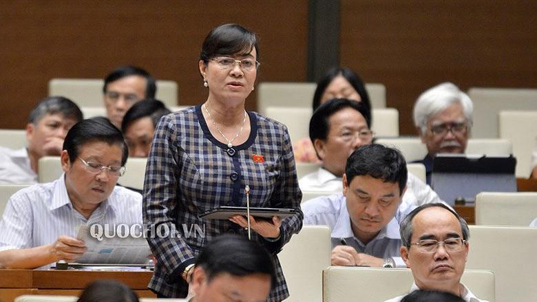 ĐB Nguyễn Thị Quyết Tâm: 'Có nhiều công nhân cả chục năm không thể về thăm con' Ảnh 1