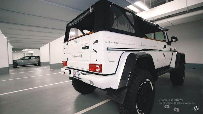 Jon Olsson tiếp tục tạo ra 'quái vật' hoang dã mới: Mercedes G500 4×4² 'Safari' Convertible 850 mã lực Ảnh 8