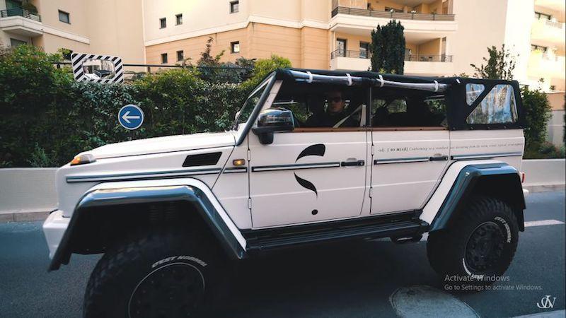 Jon Olsson tiếp tục tạo ra 'quái vật' hoang dã mới: Mercedes G500 4×4² 'Safari' Convertible 850 mã lực Ảnh 2