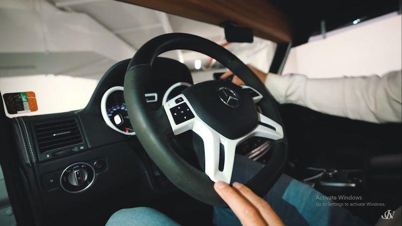Jon Olsson tiếp tục tạo ra 'quái vật' hoang dã mới: Mercedes G500 4×4² 'Safari' Convertible 850 mã lực Ảnh 4