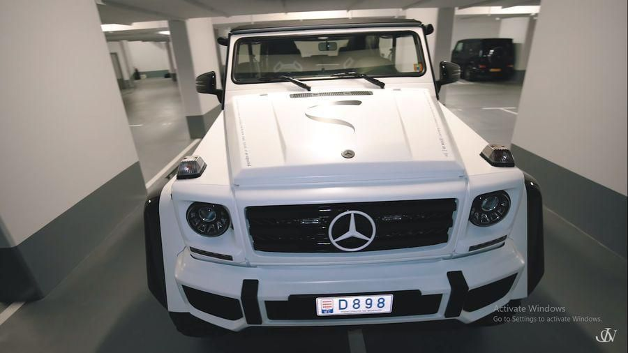 Jon Olsson tiếp tục tạo ra 'quái vật' hoang dã mới: Mercedes G500 4×4² 'Safari' Convertible 850 mã lực Ảnh 3