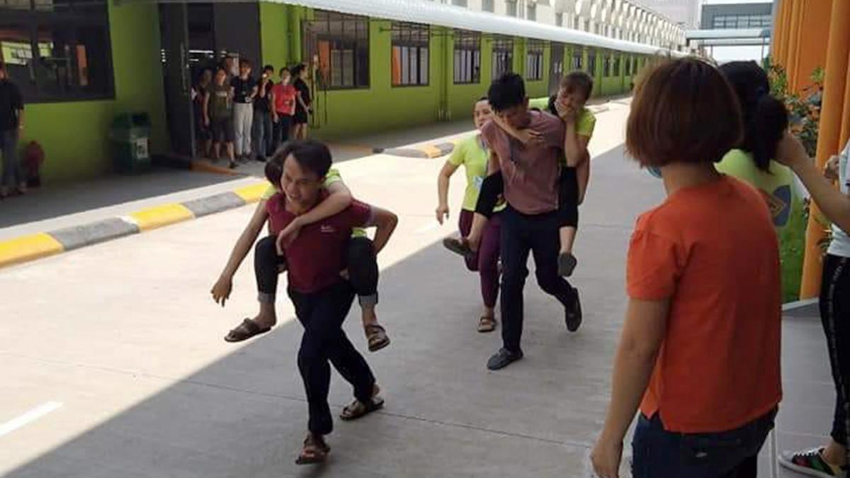 Hơn 70 công nhân tại Phú Thọ nhập viện nghi ngộ độc thực phẩm Ảnh 1
