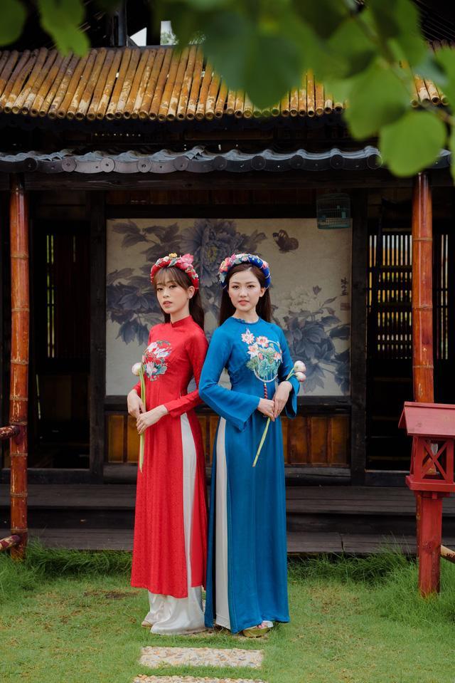 Bạn gái 'trong phim - ngoài đời' của diễn viên Bình An bỗng nhiên chạm mặt, đọ sắc Ảnh 5