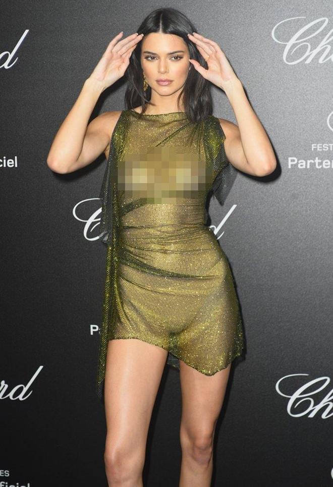 Kendall Jenner thả rông trong bộ ảnh thời trang Ảnh 4
