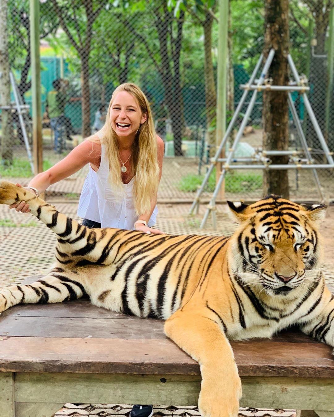 Tới Thái Lan, ghé nơi hổ đi lại nhởn nhơ trước mặt du khách Ảnh 10
