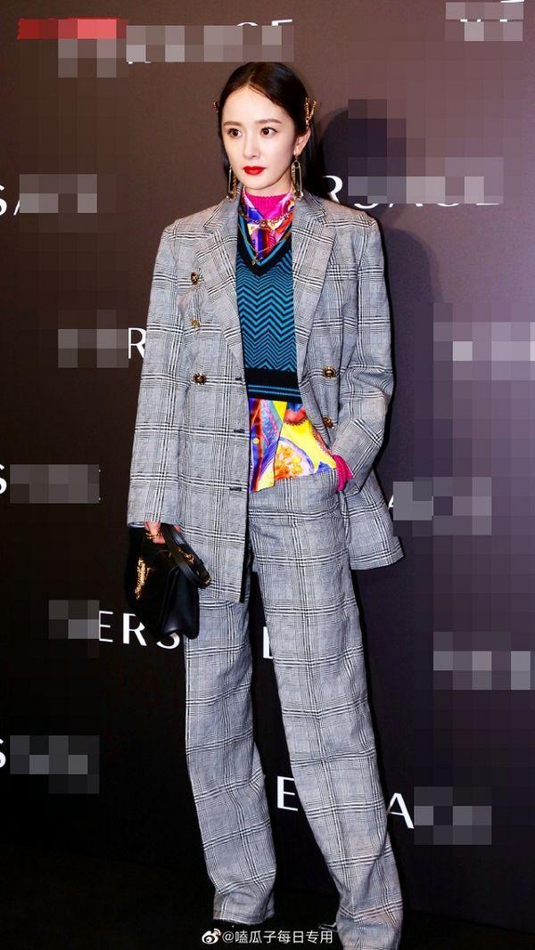 Dương Mịch cực ngầu và nam tính trong bộ menswear khi tham dự sự kiện thời trang Ảnh 1