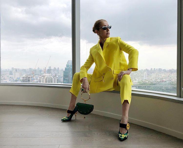 Celine Dion mặc trang phục bó sát bất chấp tuổi 51 Ảnh 8