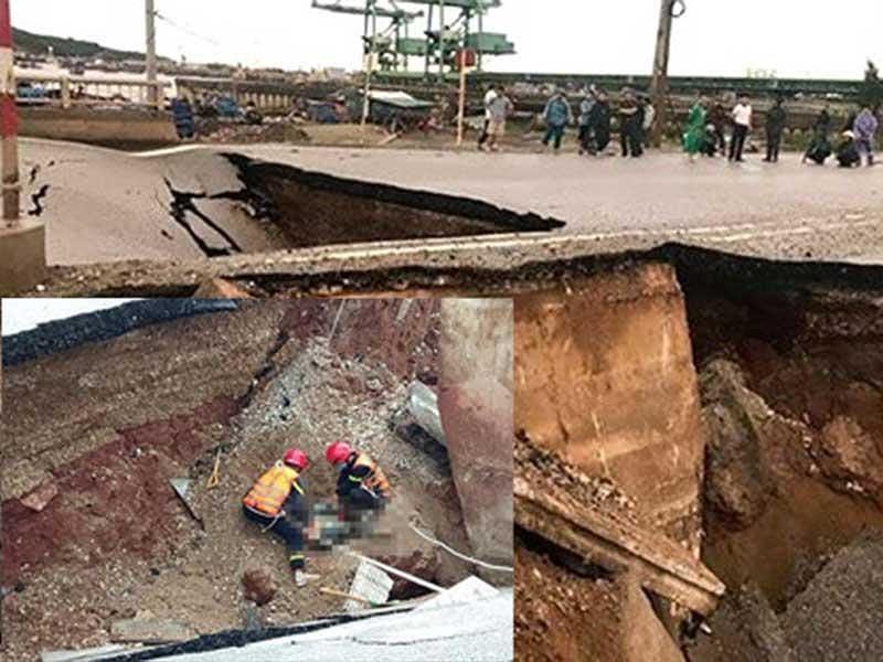 Bão số 2: Cầu sập, kênh vỡ, nhiều người gặp nạn Ảnh 2