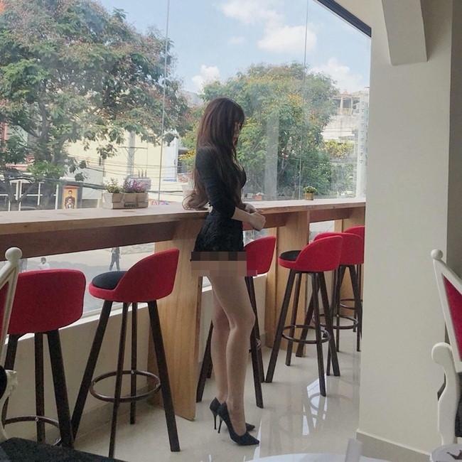 Nhức mắt những chiếc quần 'không thể ngắn hơn' của các mỹ nữ Việt Ảnh 9