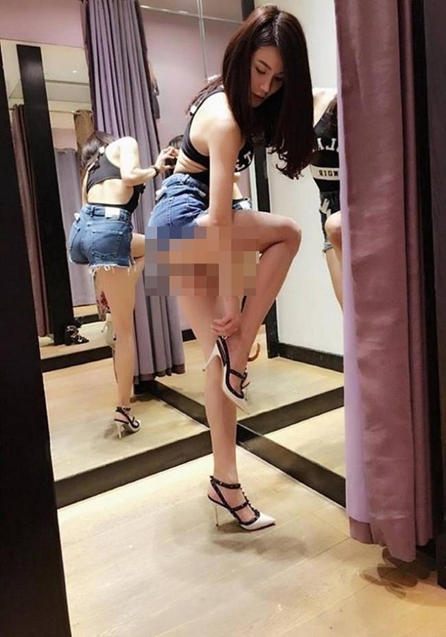 Nhức mắt những chiếc quần 'không thể ngắn hơn' của các mỹ nữ Việt Ảnh 5