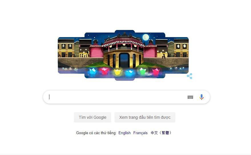 Phố cổ Hội An xuất hiện trên Google Doodles khiến người Việt tự hào Ảnh 1