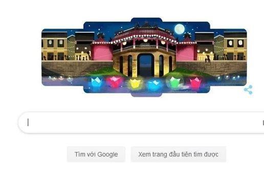 Lễ hội Đèn lồng Hội An 'thắp sáng' trang chủ của Google Ảnh 1
