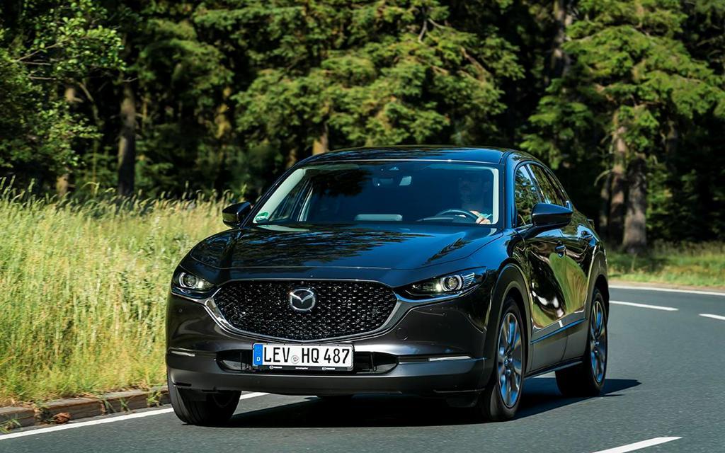 'Soi' tính năng và công nghệ trên Mazda CX-30 chuẩn bị ra mắt Ảnh 1