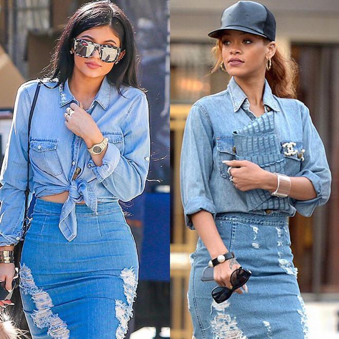 Kylie Jenner bị tố đạo nhái phong cách nữ ca sĩ giàu nhất thế giới Ảnh 6