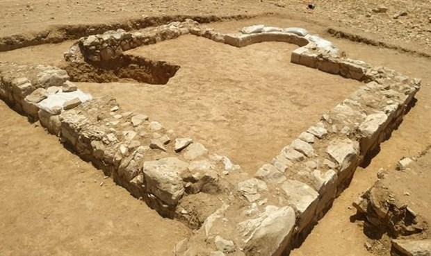 Phát hiện tàn tích đền thờ có niên đại 1.200 năm ở Israel Ảnh 1