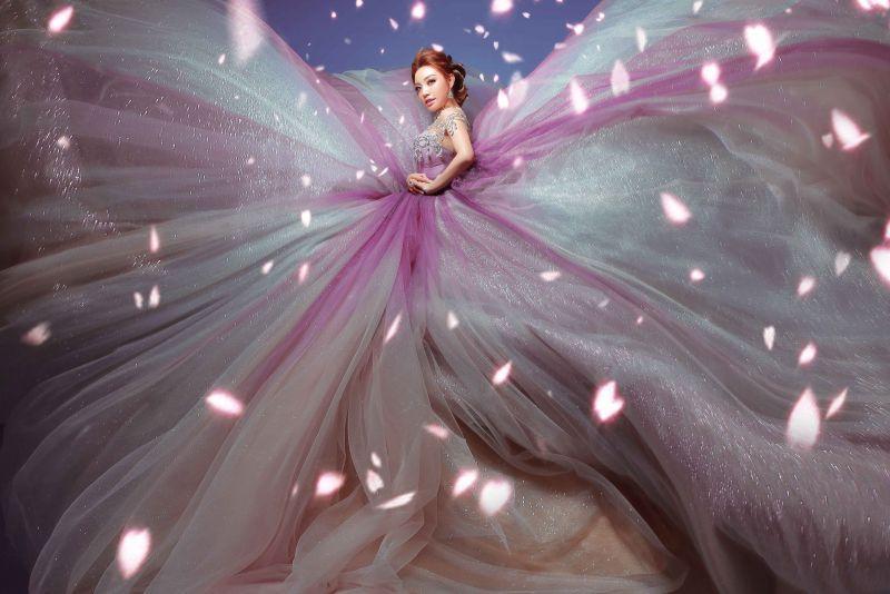 Lý San Nghi hóa cô dâu đa phong cách đầy cá tính Ảnh 10