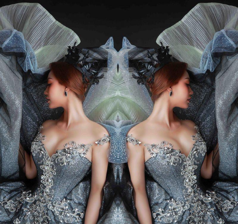 Lý San Nghi hóa cô dâu đa phong cách đầy cá tính Ảnh 8