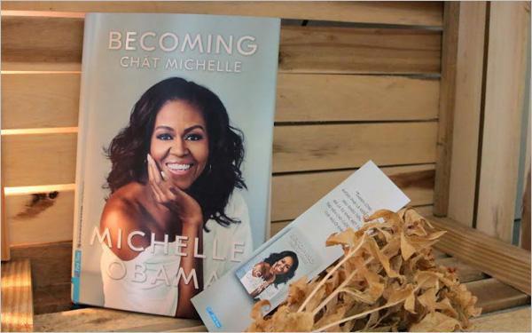 Cuốn hồi ký của vợ cựu Tổng thống Mỹ Obama được phát hành tại Việt Nam Ảnh 1