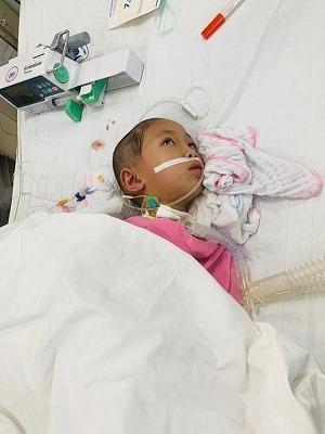 Bé gái 7 tuổi rơi vào hôn mê sau nhiều ngày sốt không hạ Ảnh 1