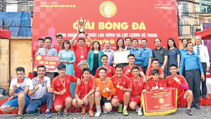 Sôi nổi các hoạt động chào mừng 90 năm Công đoàn Việt Nam Ảnh 1