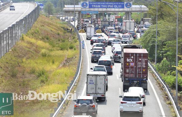 Đường cao tốc TP.Hồ Chí Minh - Long Thành - Dầu Giây quá tải Ảnh 2