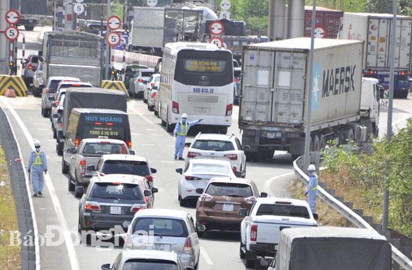 Đường cao tốc TP.Hồ Chí Minh - Long Thành - Dầu Giây quá tải Ảnh 1