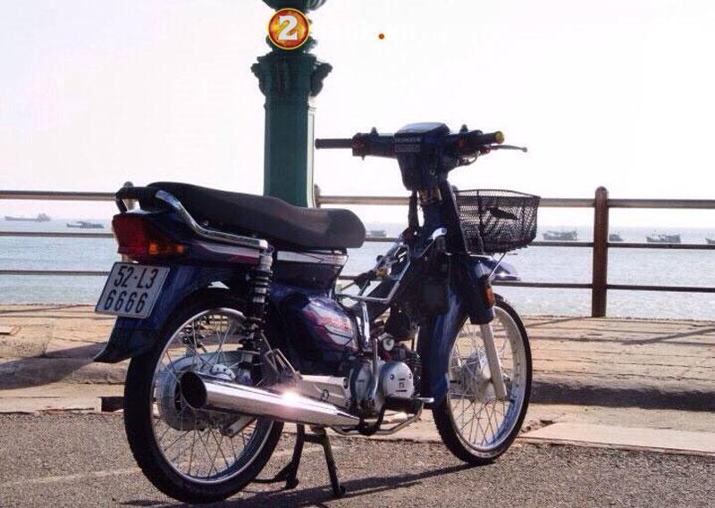 Ngắm dàn Honda Dream sở hữu 'siêu biển số' Ảnh 7