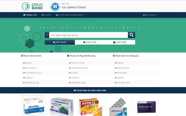 Bộ Y tế chính thức ra mắt Ngân hàng dữ liệu ngành Dược Ảnh 1