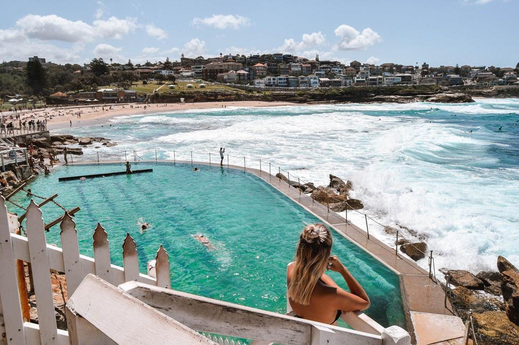 Bể bơi giữa biển khơi, trải nghiệm độc nhất ở Australia Ảnh 1