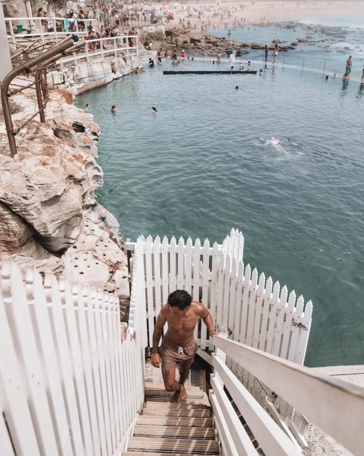 Bể bơi giữa biển khơi, trải nghiệm độc nhất ở Australia Ảnh 4