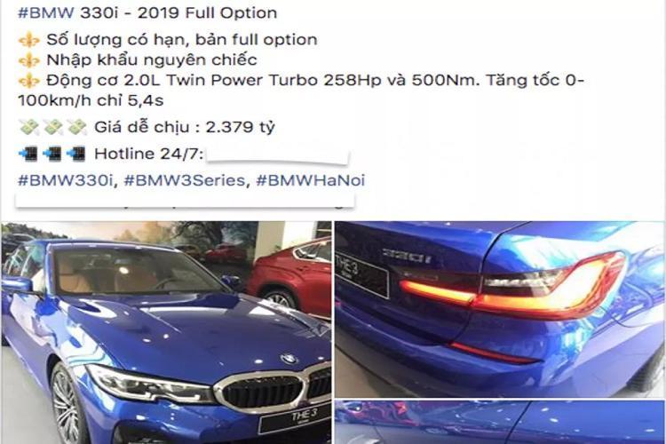 Cận cảnh BMW 330i M Sport giá 2,38 tỷ đồng tại Việt Nam Ảnh 2
