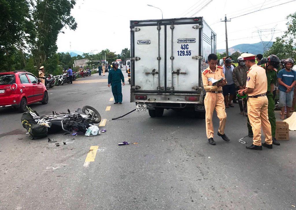 Hai ngày, 3 vụ tai nạn giao thông làm 3 người đi xe máy tử vong Ảnh 1