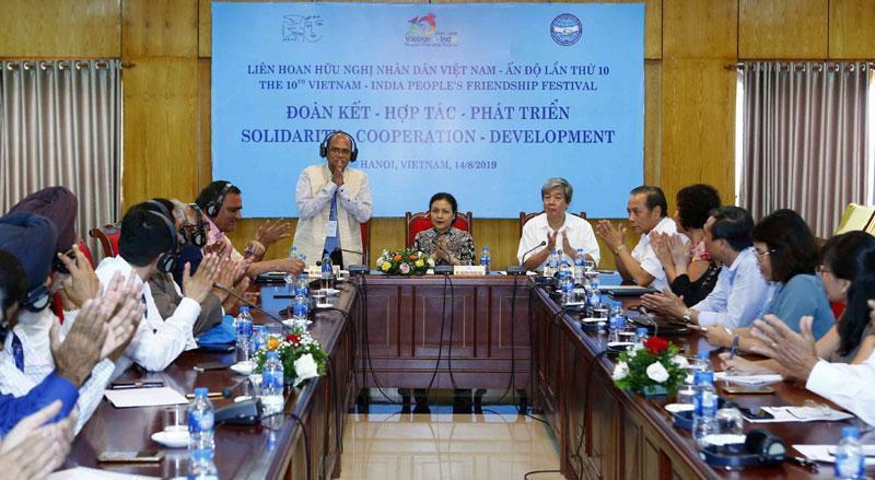 Tăng cường sự hiểu biết, tình đoàn kết, hữu nghị, hợp tác giữa nhân dân Việt Nam – Ấn Độ Ảnh 1