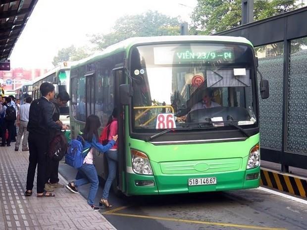 Chưa trình phương án tổ chức làn ưu tiên cho xe buýt ở TP Hồ Chí Minh Ảnh 1