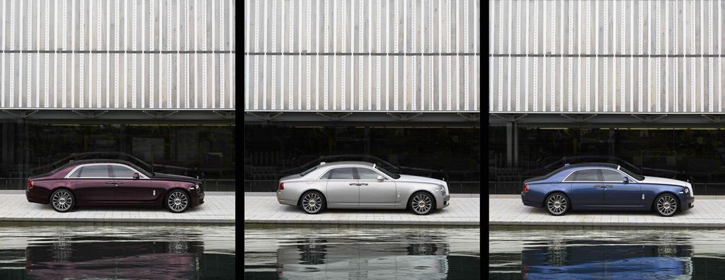 Chiêm ngưỡng bộ sưu tập Rolls-Royce Ghost đặc biệt, chỉ 50 chiếc ra lò Ảnh 2