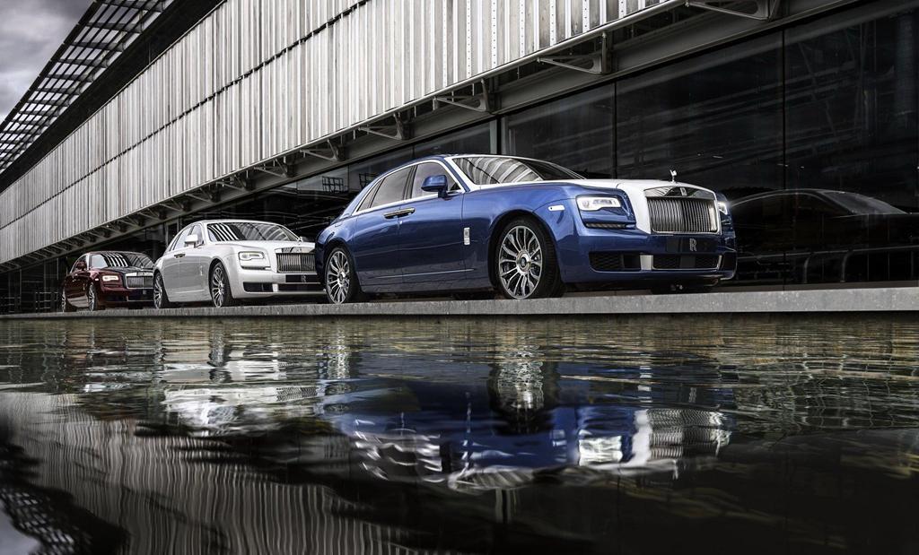 Chiêm ngưỡng bộ sưu tập Rolls-Royce Ghost đặc biệt, chỉ 50 chiếc ra lò Ảnh 1