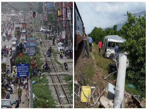 Lái xe băng qua đường sắt nếu bỏ qua những điều này khó 'giữ mạng sống' Ảnh 1