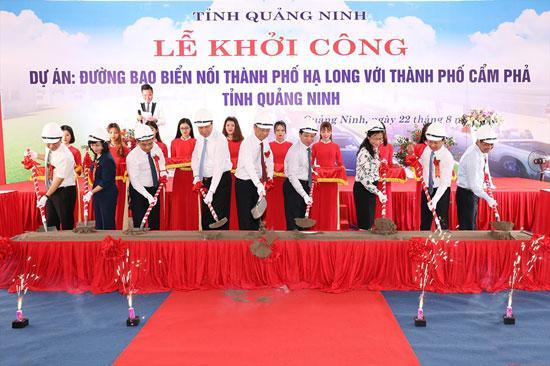 Quảng Ninh khởi công đường bao biển Hạ Long - Cẩm Phả Ảnh 1