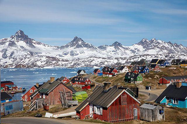 Greenland, hòn đảo Tổng thống Trump đòi mua đẹp đến thế nào? Ảnh 1