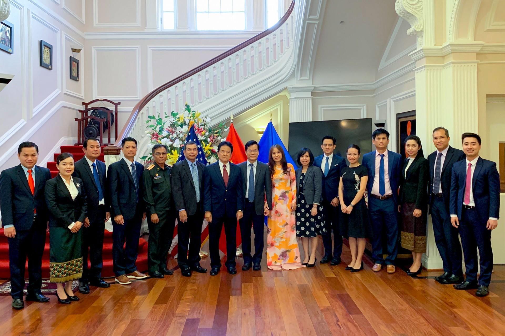 Đại sứ quán Lào tại Hoa Kỳ chúc mừng Quốc khánh Việt Nam Ảnh 2