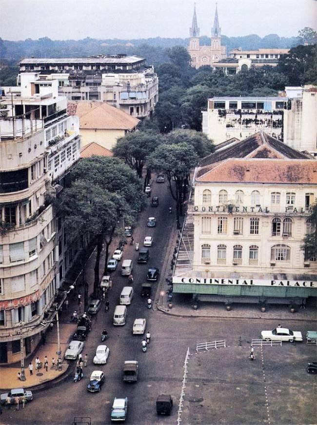 Những góc Sài Gòn xưa yên bình qua loạt ảnh màu Ảnh 10